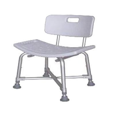 Alum. Heavy Duty Shower Chair K/D Version